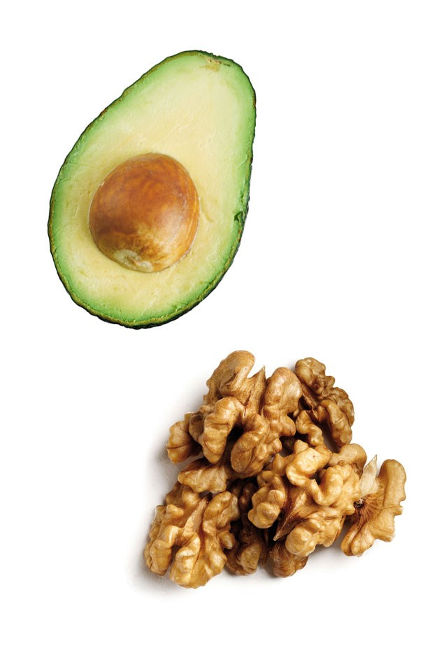 <strong>Skin Superfoods</strong> <br> <br> Avocados are a fabulous source of vitamins C, E and rich in healthy fats, which all work to hydrate your skin and help it lock in moisture. Nuts work in the same way.