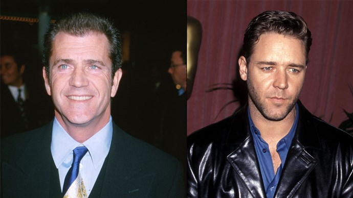 Mel Gibson turned down the role of Maximus in <em>Gladiator</em> because he felt he was too old to play the part. Russell Crowe won the Oscar for best actor.