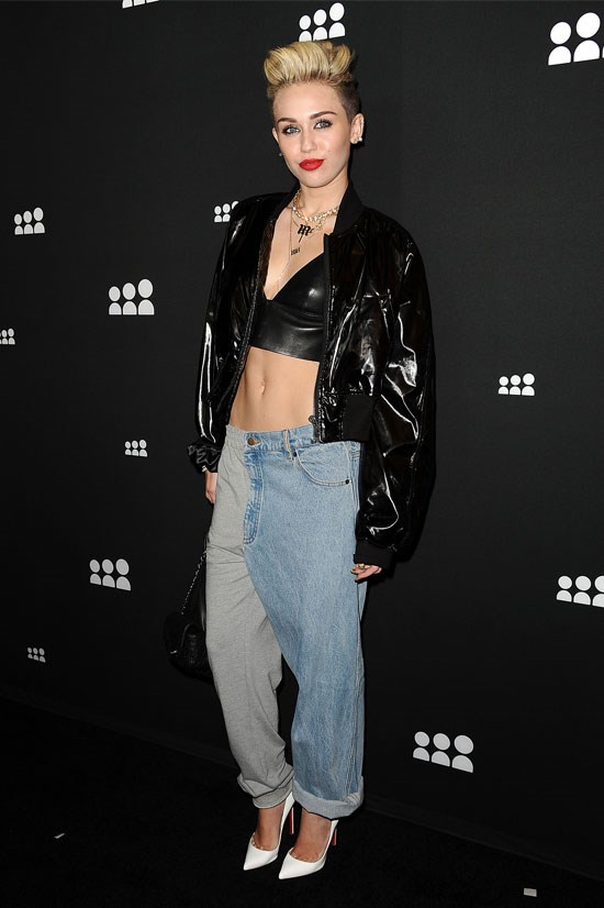 Miley Cyrus at a Myspace artist showcase event, June 2013.