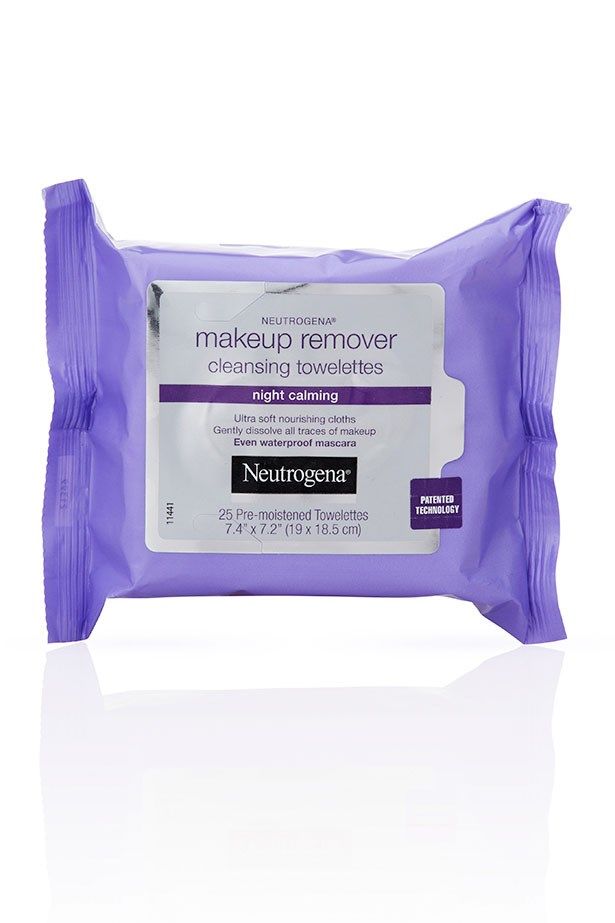"""<strong>For cleaning away contouring </strong> <br> <br> Smokey eye, contoured cheeks or matte-lip loyalists rejoice, these wipes rid your skin of every skerrick of makeup with minimal effort. Stash a packet on your bedside table for nights when you truly can't be bothered cleaning your face (hey, it happens to the best of us) <br> <br> <a href=""""https://www.priceline.com.au/brand/neutrogena/neutrogena-makeup-remover-cleansing-towelettes-night-calming-25-pack"""">Makeup Remover Cleansing Towelettes, Night Calming, Neutrogena</a>"""