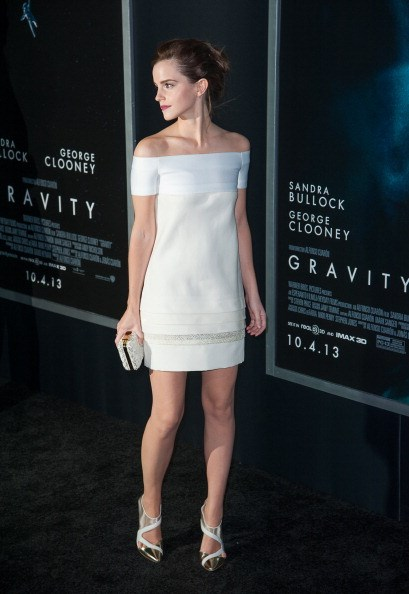 <p><strong>OCTOBER 1, 2013</strong></p> <p>In J. Mendel at the Gravity premiere in New York.</p>