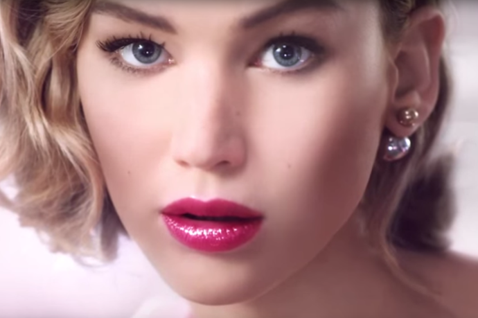 JLaw Has A Basic Instinct Moment In New Dior Addict Ad