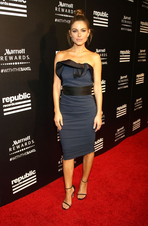 MARIA MENOUNOS At the Republic Records 2015 VMA after party at Ysabel restaurant. GETTY