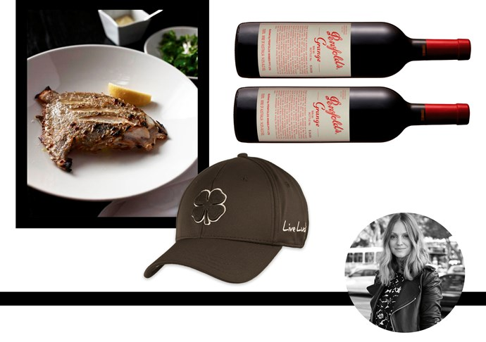 "Dee Jenner, style editor<br>My dad's a great cook and his idol is Neil Perry so I'd love to take him out for one of his steaks. Rump steak 220g dry aged 9 days, $95,  Rockpool bar and grill, <a href=""http://www.rockpool.com/rockpoolbarandgrillsydney/food/ "">Rockpool</a> <br><br>Another golf hat to add to his collection, this brand is his favourite. Hat, $29, Black Clover,  <a href=""http://blackcloverusa.com/products/premium-clover-2"">Black Clover</a> <br><br>Dad loves Penfolds so this would be the ultimate bottle. Hopefully he shares some with me! Grange 2004, $632,  <a href=""https://www.danmurphys.com.au/product/DM_325677/penfolds-grange-2004"">Penfolds</a>"