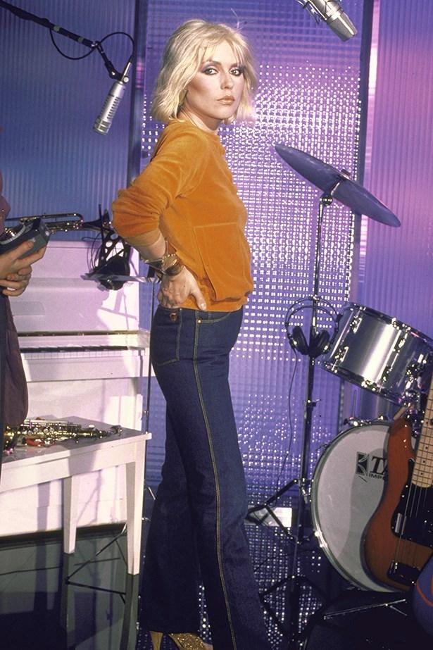 Debbie Harry has always been a denim-clad rock goddess.