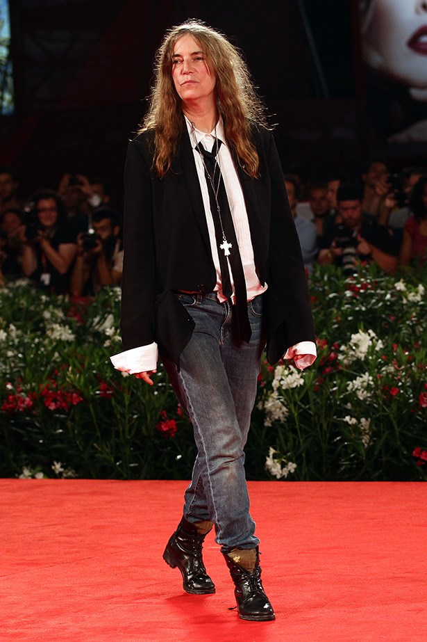Patti Smith's oft-copied tomboy style wouldn't be complete without jeans - she's worn them all her life, but nobody's worn them quite like her.
