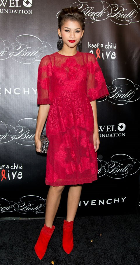 NOVEMBER 7, 2013 At the 10th annual Keep A Child Alive Black Ball in New York City. GETTY