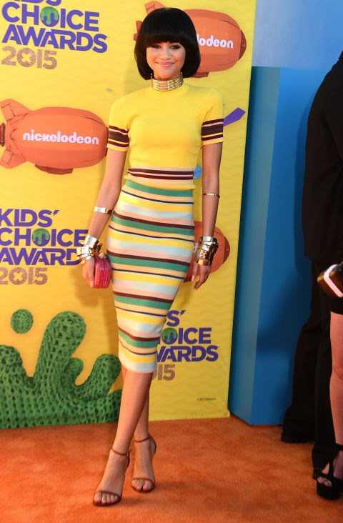 MARCH 28, 2015 At the Nickelodeon's 28th Annual Kids' Choice Awards in Inglewood, California. GETTY