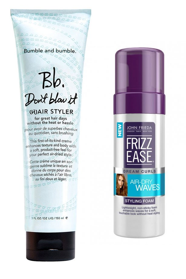"""<strong>Lay off the heat, air-dry instead </strong> <br> <br> Yeah yeah, I know you've got your glam squad on hand and that's great, but I'm sure even they'd tell you the same thing that I'm about to tell you now: Straightening, curling and blow-drying your hair daily is even tougher for blondes. Your new hair is way weaker than it used to be. So, embrace the boho look and skip the heat where you can, using a new <a href=""""https://www.google.com.au/webhp?sourceid=chrome-instant&ion=1&espv=2&ie=UTF-8#q=john+frieda+mousse+air+dry+%5C"""">air-dry</a> <a href=""""http://mecca.com.au/bumble-and-bumble/dont-blow-it/V-021994.html"""">specific styling cream</a> to help your strands along."""