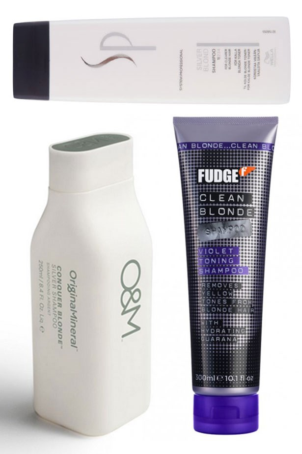 """<strong>Invest in a purple shampoo </strong> <br> <br> Trust me Kylie, a <a href=""""http://www.adorebeauty.com.au/wella-sp-silver-blonde-shampoo.html"""">purple </a><a href=""""http://www.adorebeauty.com.au/o-m-tlc-blonde-silver-shampoo.html"""">shampoo </a>is <a href=""""https://www.priceline.com.au/fudge-clean-blonde-violet-toning-shampoo-300-ml"""">going </a>to be your new best friend (sorry Pia Mia) Use it once a week to knock back brassiness and keep that platinum polished."""