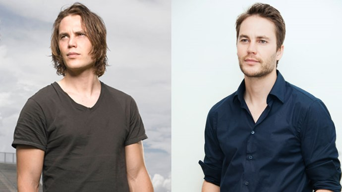 <strong>Taylor Kitsch</strong> <BR> <BR> <strong>Then:</strong> Was the brooding bad boy footballer with a heart of gold in <em>Friday Night Lights</em> (the best show of all time, it's not about football, it's about life!). So, so hot. <BR> <BR> <strong>Now:</strong> After a few box-office fizzles, he played troubled and brooding detective Paul Woodrugh in the dark, violent and very confusing second season of <em>True Detective</em>. Still so, so hot.