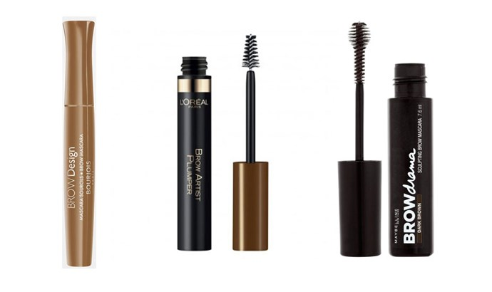 "<strong>Brush on Brows</strong> <br> <br> Pencils and powders are great for filling in, but they can slip and slide off sweaty skin. Instead opt for brush-on, mascara-wand style products. ""<a href=""https://www.priceline.com.au/maybelline-brow-drama-sculpting-brow-mascara-7-6-ml"">A gel </a>d<a href=""https://www.priceline.com.au/l-oreal-paris-brow-artist-plumper-3-5-ml"">efines and holds</a> brows in place but <a href=""http://www.asos.com/au/Beauty/A-To-Z-Of-Brands/Bourjous/Cat/pgecategory.aspx?cid=1451&xr=1&mk=VOID&r=3"">tints the hair</a>, not the skin so it will last longer,"" says Stanislaus."