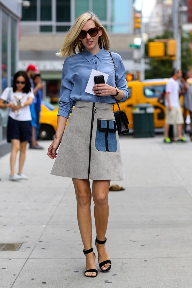 So preppy chic.