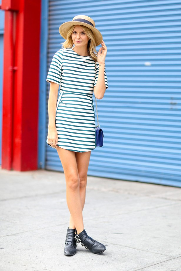 Another Australian, blogger Jessica Stein who nails summer-time dressing.