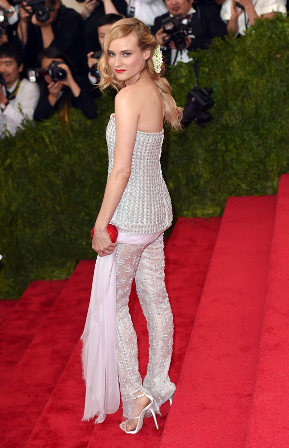 And how could we forget <em>this</em> look from the 2015 MET Gala?
