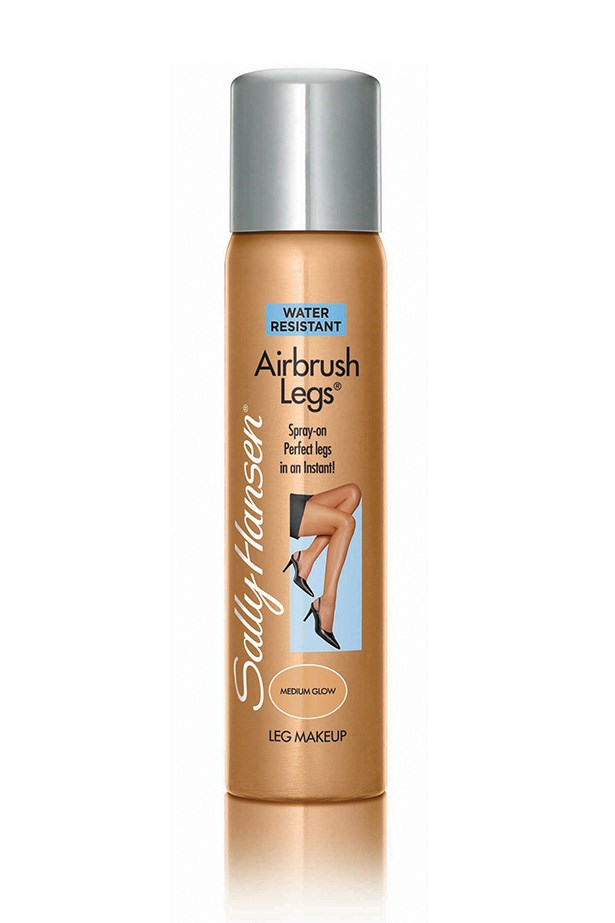 <strong>DIY Tan</strong> <br><br> No time to tan? No worries. For an imperfection-banishing, I-just-got-back-from-the-Bahamas glow, look no further than the try Airbrush Legs, $24.95, <em>Sally Hansen,</em>1800 812 663 A cult classic for a reason, it's the perfect one-night fix it that will hold you over till your next spray tan.