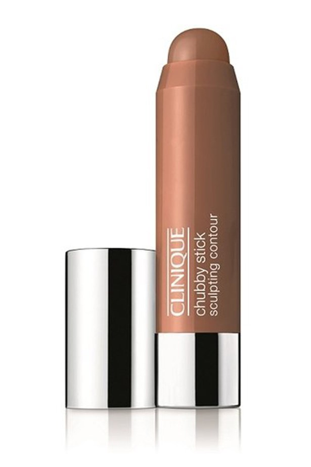 <strong>Sculpt and contour </strong> <br><br> Instantly define your cheekbones and warm up your face with a generous swish of bronzer and contour. Swipe Chubby Stick Sculpting Contour, $42, <em>Clinique</em>, Clinique.com.au around the cheekbones, temples, jawline, and blend, blend, blend.