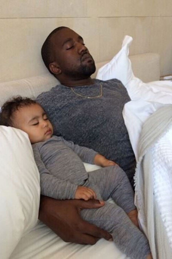 16 Times Kanye And North Totally Matched