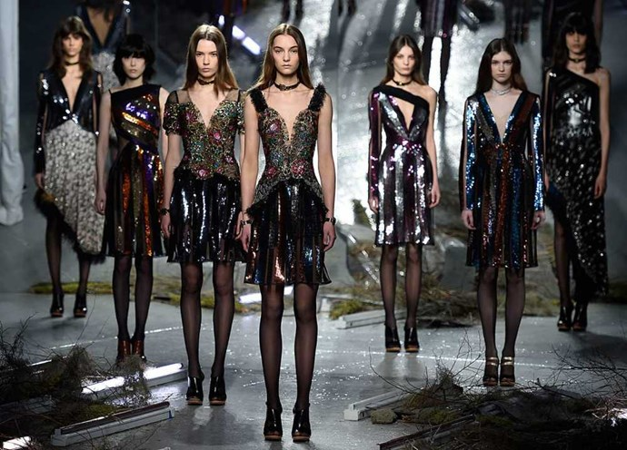 <strong>RODARTE</strong> <BR> <BR> The Mulleavy sisters, Kate and Laura, are the highlight of the Tuesday shows at NYFW because you never know what they're planning. Mermaids? Rockabillies? Punks?