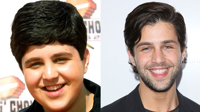 <strong>Josh Peck</strong> <BR> Here is Josh from <em>Drake and Josh</em>, the hit Nickelodeon TV show. Dat hair.