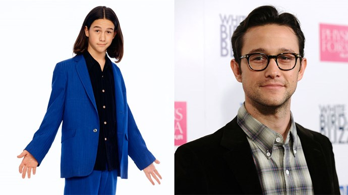 <strong>Joseph Gordon-Levitt</strong> <BR> Joseph's most memorable teen screen appearance was probably <em>10 Things I Hate About You</em> in 1999. But even before that, he starred in the American TV show <em>3rd Rock from the Sun</em>. He has aged quite wonderfully, no?