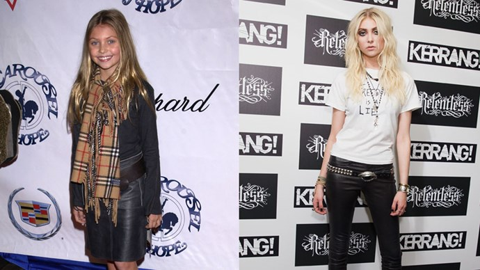 <strong>Taylor Momsen</strong> <BR> Taylor played a cheery citizen from Whoville in <em>How The Grinch Stole Christmas</em>. She appeared in <em>Gossip Girl</em> as Dan's younger sister Jenny Humphrey and now fronts her band The Pretty Reckless.
