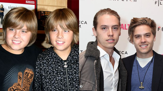 <strong>Cole and Dylan Sprouse</strong> <BR> Twins Cole and Dylan starred in the hit Disney show <em>The Suite Life of Zack and Cody</em>.