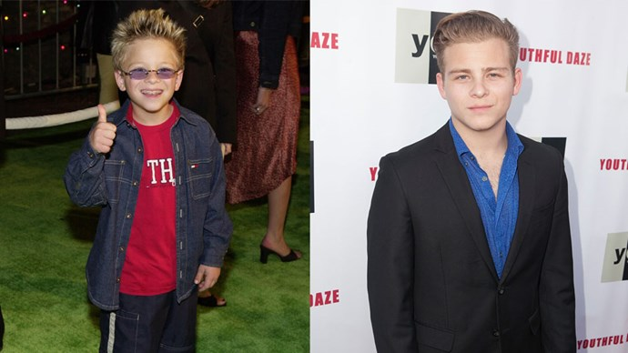 <strong>Jonathan Lipnicki</strong> <BR> Ever wonder what happened to George Little from <em>Stuart Little</em>? Well, he sprouted.