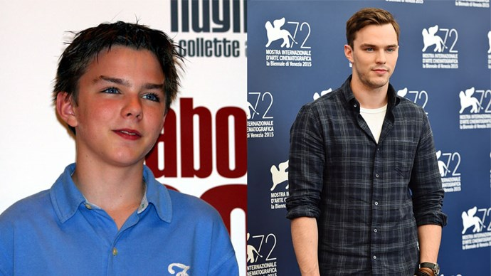 <strong>Nicholas Hoult</strong> <BR> Hugh Grant played little Marcus' father figure in <em>About A Boy</em>, 2002. Hoult is also famous for his role as Tony in <em>Skins</em>.