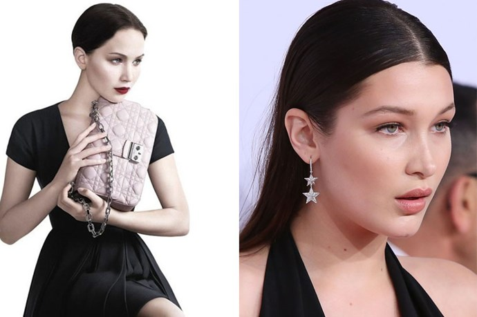 Thanks to ELLE UK for pointing out what we should already have known - JLaw and Bella Hadid are basically twins! The resemblance is uncanny (and gorgeous!)