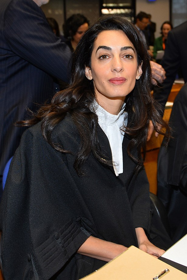 "Amal Clooney, brilliant human rights barrister had the best response to an interviewer that asked her in the middle of an important trial what she was wearing. Her response?  ""I'm wearing Ede & Ravenscroft."" Ede & Ravenscroft make legal robes."