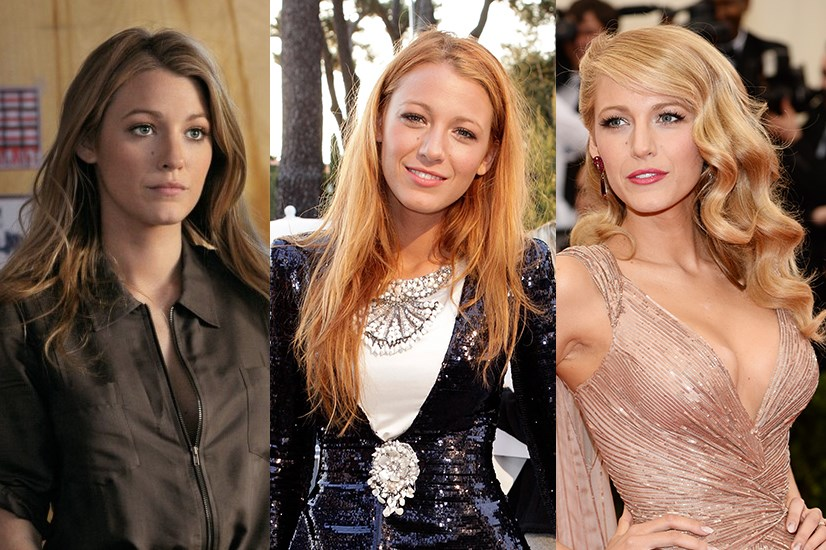 "While she may be pioneering (we think) the new ultra-phenomenon ""Bronde"" at the moment, Blake Lively is no stranger to a dye job. The actress has flirted between blonde, strawberry red and mahogany."