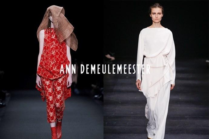 Ann Demeulemeester-  ann de-mule-eh-meester