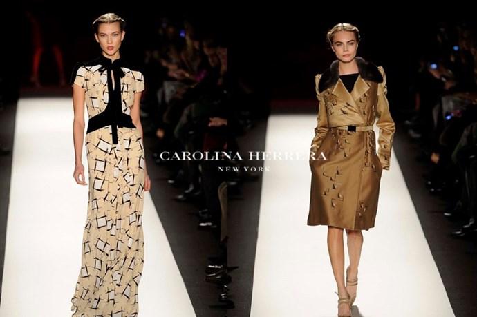 Carolina Herrera – <em>cair-oh-lee-nah her-rair-ah</em>