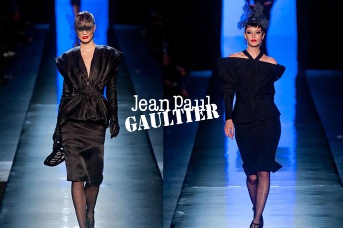 Jean Paul Gaultier –<em> zhon paul gol-tee-yay</em>