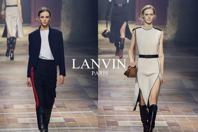 Lanvin – <em>lahn-vahn</em>