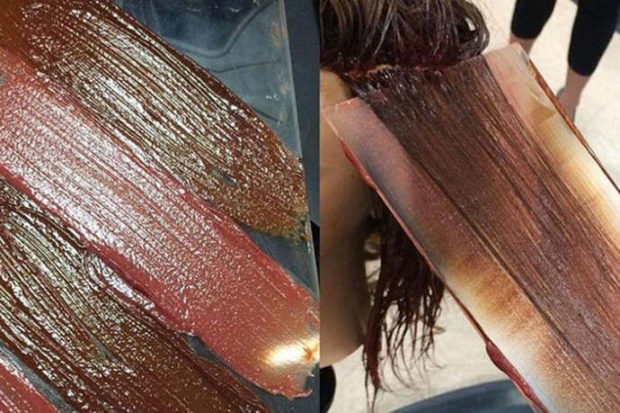 Hand pressed colouring is a beautiful new hair trend