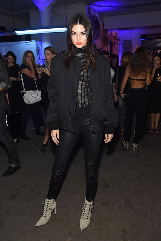 Casually killing it at the Givenchy after-party.
