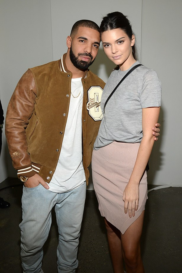 Hanging with Drake.