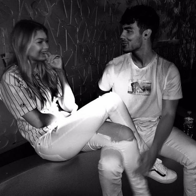 Joe Jonas and Gigi Hadid aka GI JO.
