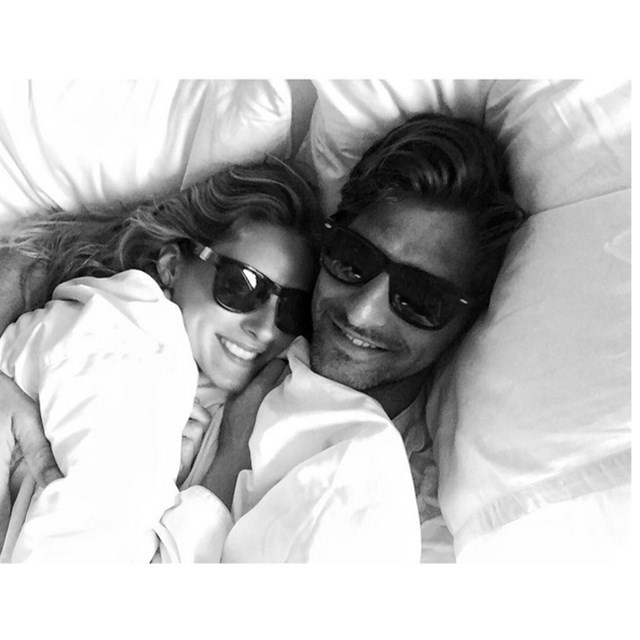 The most beautiful couple in the world: Olivia Palermo and Johannes Huebl.