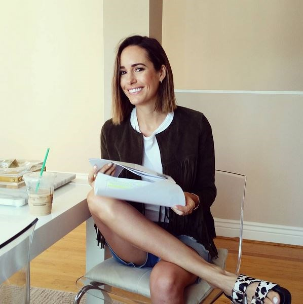 <strong>Louise Roe</strong> <br> <br> <em>Happy #Emmys day! Coffee, research and a killer glamsquad on it's way…I'm ready to go! Follow my instagram @LouiseRoe all day for updates live from the red carpet with @accesshollywood</em>