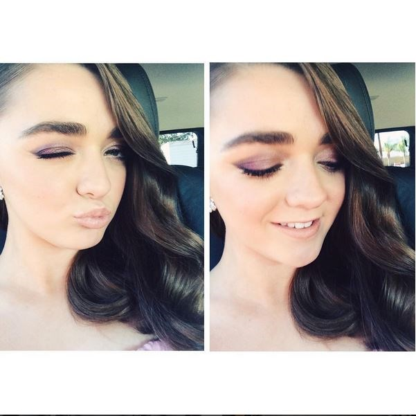 <strong>Maisie Williams</strong> <br> <br> <em>Ready for the Emmys</em>