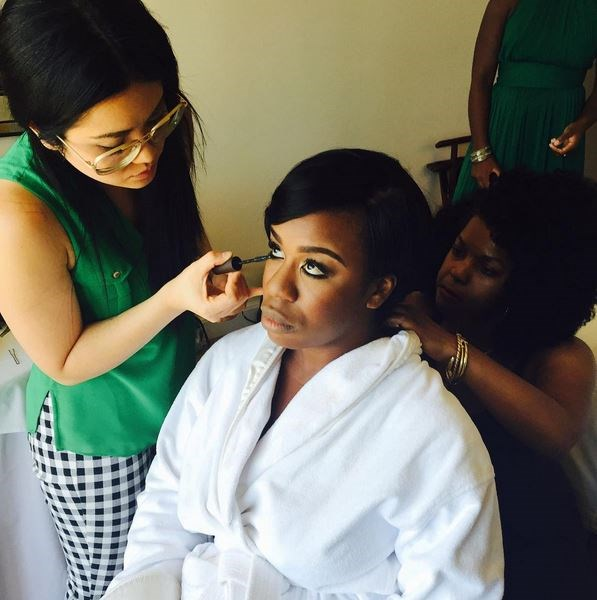 <strong>Uzo Aduba</strong> <br> <br> <em>Almost there. #emmys</em>