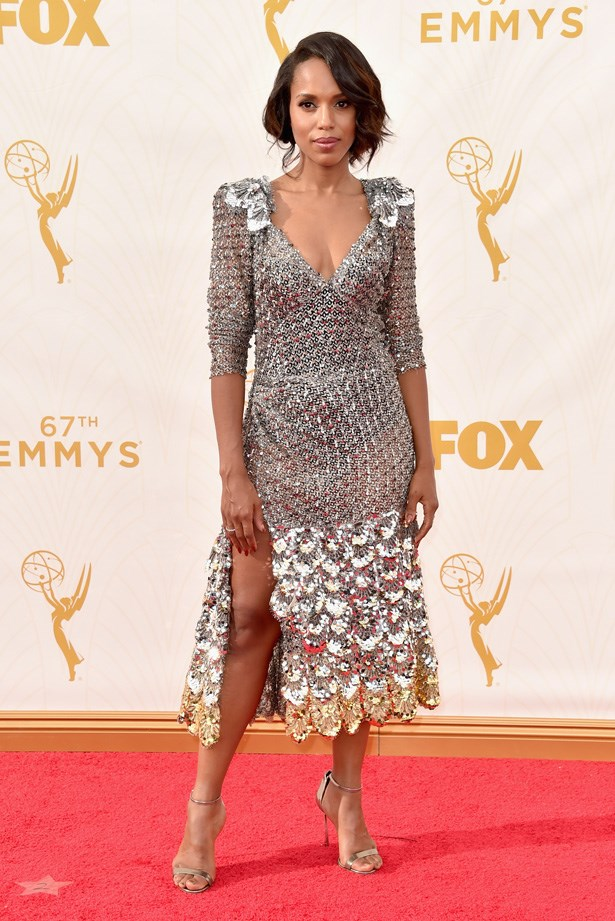 Kerry Washington in Marc Jacobs.