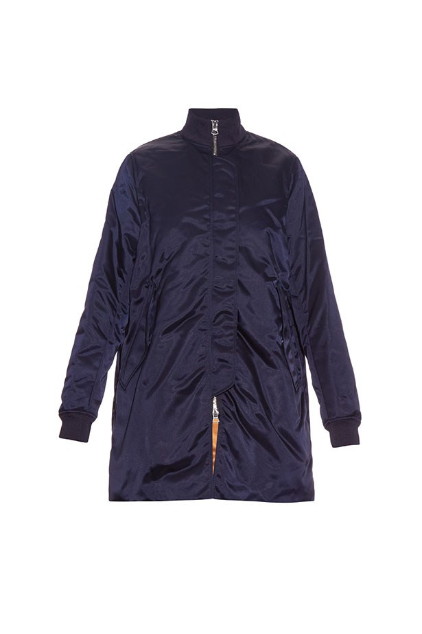 """<p>The Bomber</p> <p><a href=""""http://www.matchesfashion.com/au/products/Acne-Studios-Aude-satin-bomber-jacket--1019749"""">Acne Studios Bomber Jacket</a></p> <p>$767</p>"""