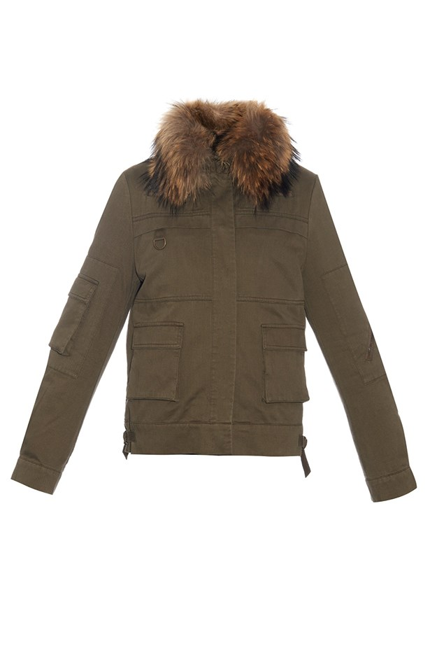 "<p>The Parka</p> <p><a href=""http://www.matchesfashion.com/au/products/Yves-Salomon-Rabbit-fur-lined-jacket--1023769"">Yves Salomon Fur Lined Jacket</a></p> <p>$1,877</p>"