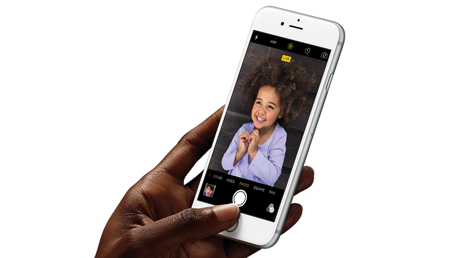 Live photos on iPhone 6s