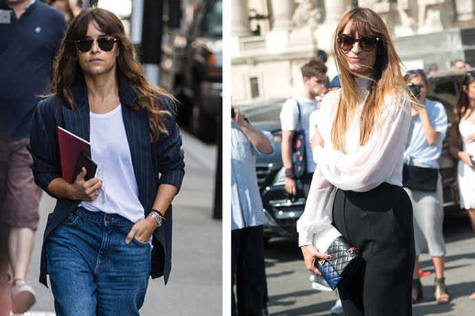 <strong>Bang Bang</strong> <br> <br> Part Bardot, part bedhead, the tousled fringe throws instant street-chic. Curator of Parisian cool-girl gospel <em>Caroline de Maigret</em> recently told <em>ELLE </em>that she skips conditioner, instead only using a deep conditioning masque once a week. This, she says is the secret to her signature air-dried waves.