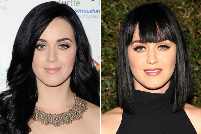 KATY PERRY In 2012 / In 2014